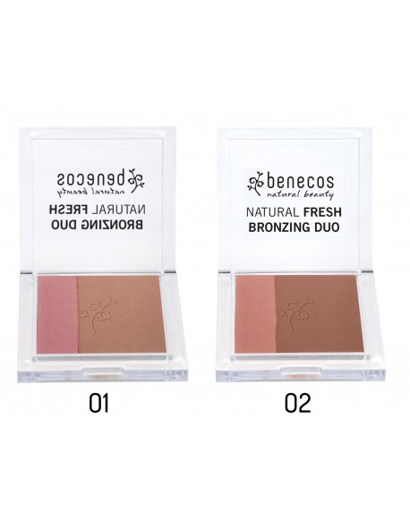 Duo bronzer et blush bio