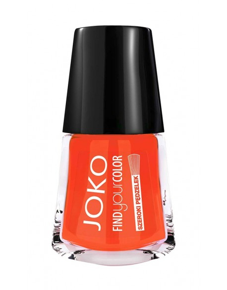 Vernis à ongles brillant spicy orange