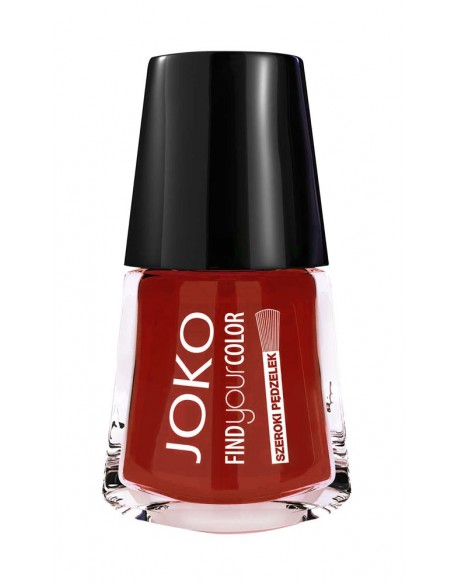 Vernis à ongles brillant brick red