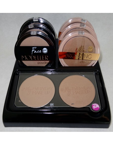 Présentoir Face Modeller Powder & Ultra Bronzing Powder