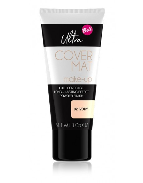 Ultra Cover Mat Make-Up ivoire
